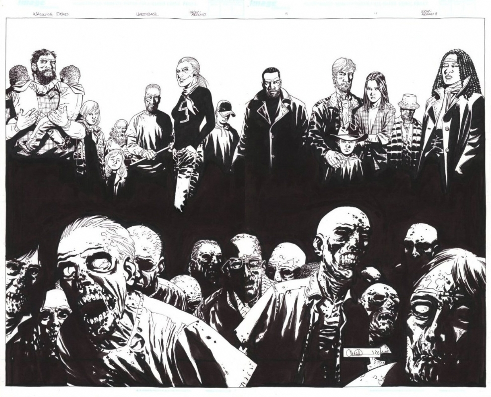 Anatoli's Game Room: The Walking Dead comic