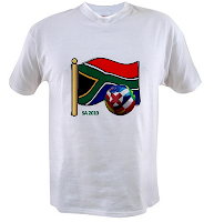South Africa 2010 t-shirts