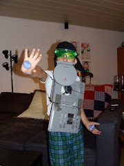 "Josh as ""Iron Man"""