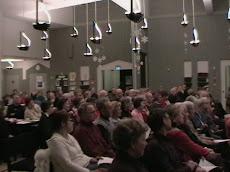 Terveysfoorumin yleisöä