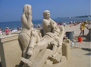 dentista praia areia