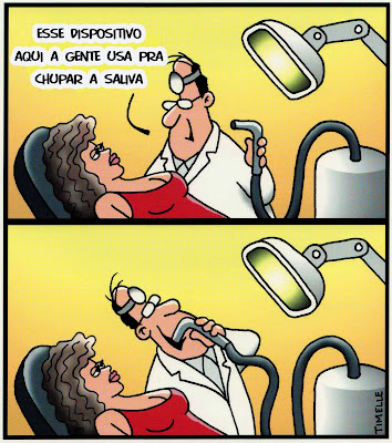 sugador dentista