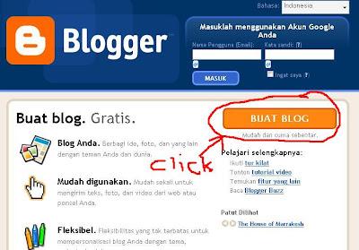 Cara Membuat Blog Menggunakan Platform Blogger