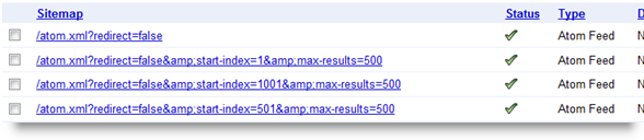 success sitemap