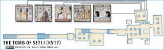 makam+Makam+Pharaoh+Seti+I++15 Makam Pharaoh Seti I dan Terowongan Rahasia Didalamnya!