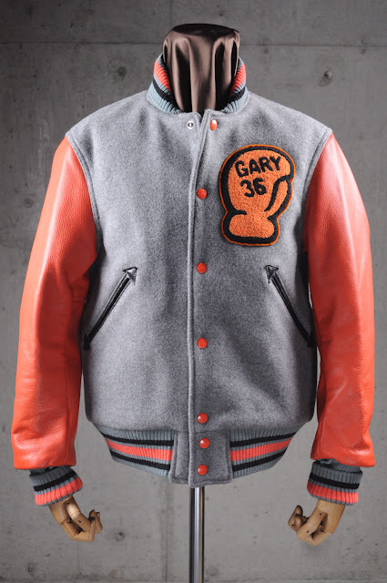 letterman boxer jacket