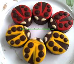 Ladybug Oreo Choc