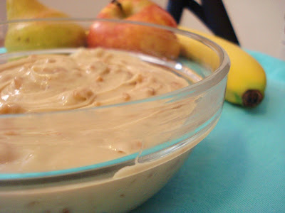 Toffee Fruit Dip I One Lovely Life