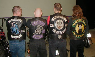 1% Motorcycle Club Patches http://mc-razzia.blogspot.com/2008/10/immortals-mc.html