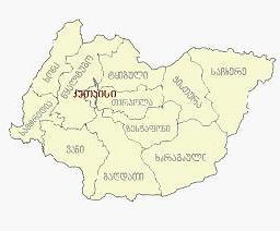 იმერეთის რუკა