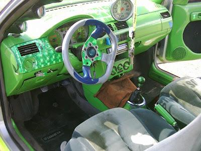Pintar el Interior de un Auto: ¡Tuning!