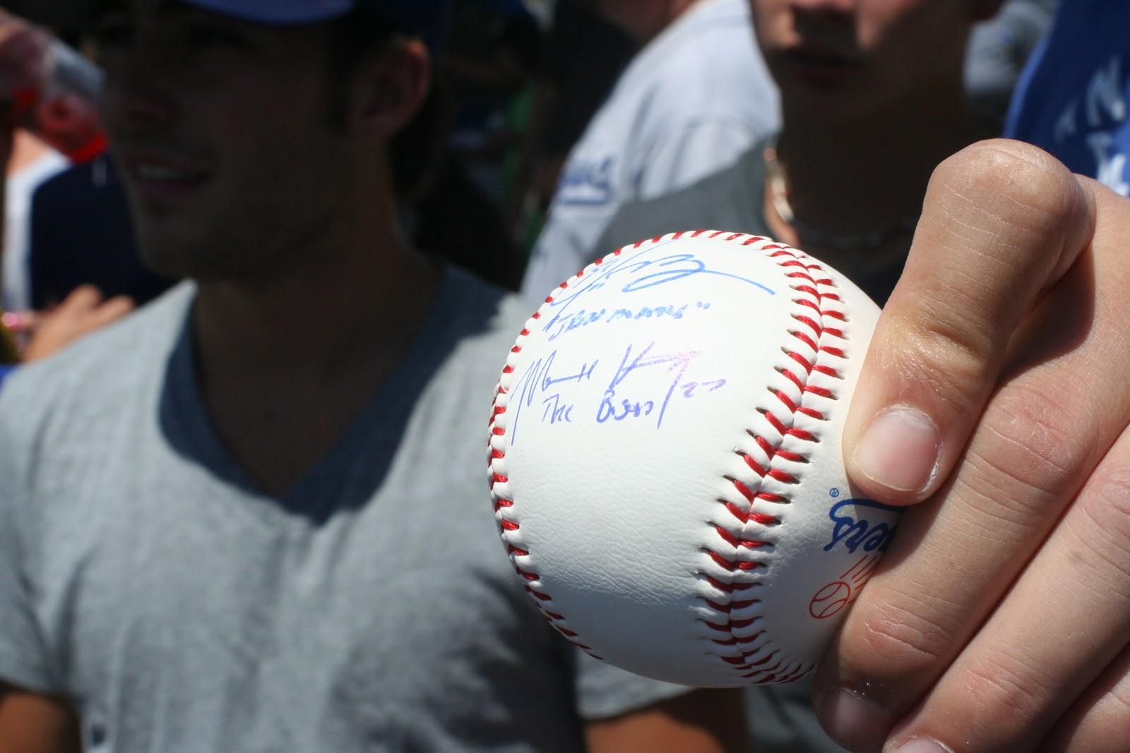 Kemp Autographed Matt Kemp Autograph Fail