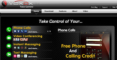 Vovox Free phone and calling credit