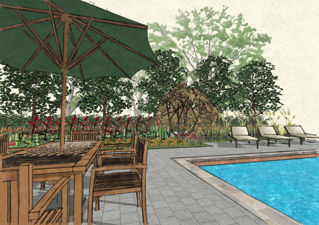 John denson rla landscape architecture musings september 2010 for Pool design sketchup