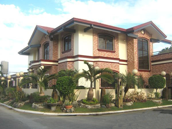 Corner lot house plans philippines pictures