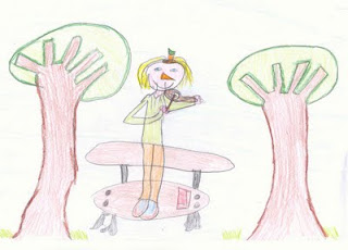 Nariz de zanahoria. Foto: Blog Lectura y Escritura