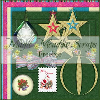 http://magicmeadowscraps.blogspot.com/2009/10/daily-freebie-xmas-collections-3.html