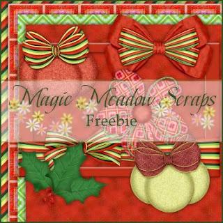 http://magicmeadowscraps.blogspot.com/2009/11/daily-freebie-xmas-collections-9.html