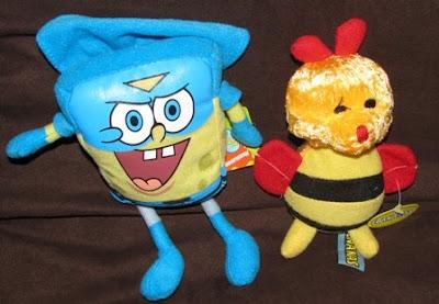 Spongebob Squarepants and a Bee