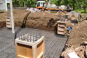 Foundation Reinforcement of Tower