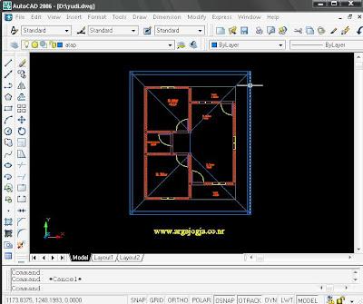 Tutorial Cara Menyimpan Gambar AutoCAD Dalam Format Gambar BMP