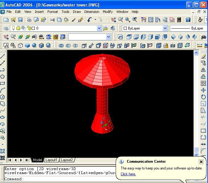 Cara Mengeksport Model Struktur Water Tower dari SAP 2000 Ke Program