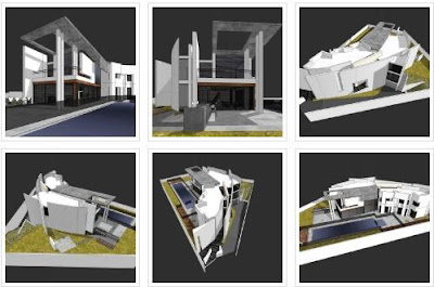 Lomba Desain Architecture Visualitation GH House