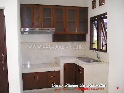 Desain Furniture Kitchen Set Minimalist
