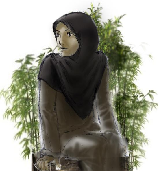 wallpaper islam muslimah. cartoon muslim; wallpaper