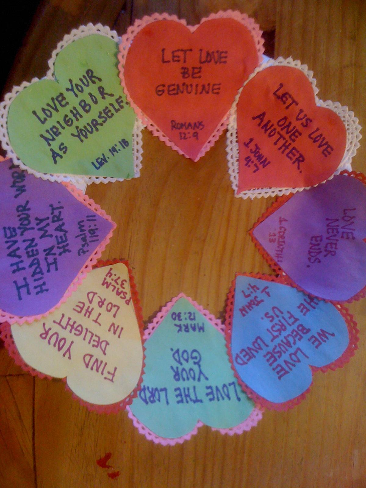 Christian Valentines Crafts