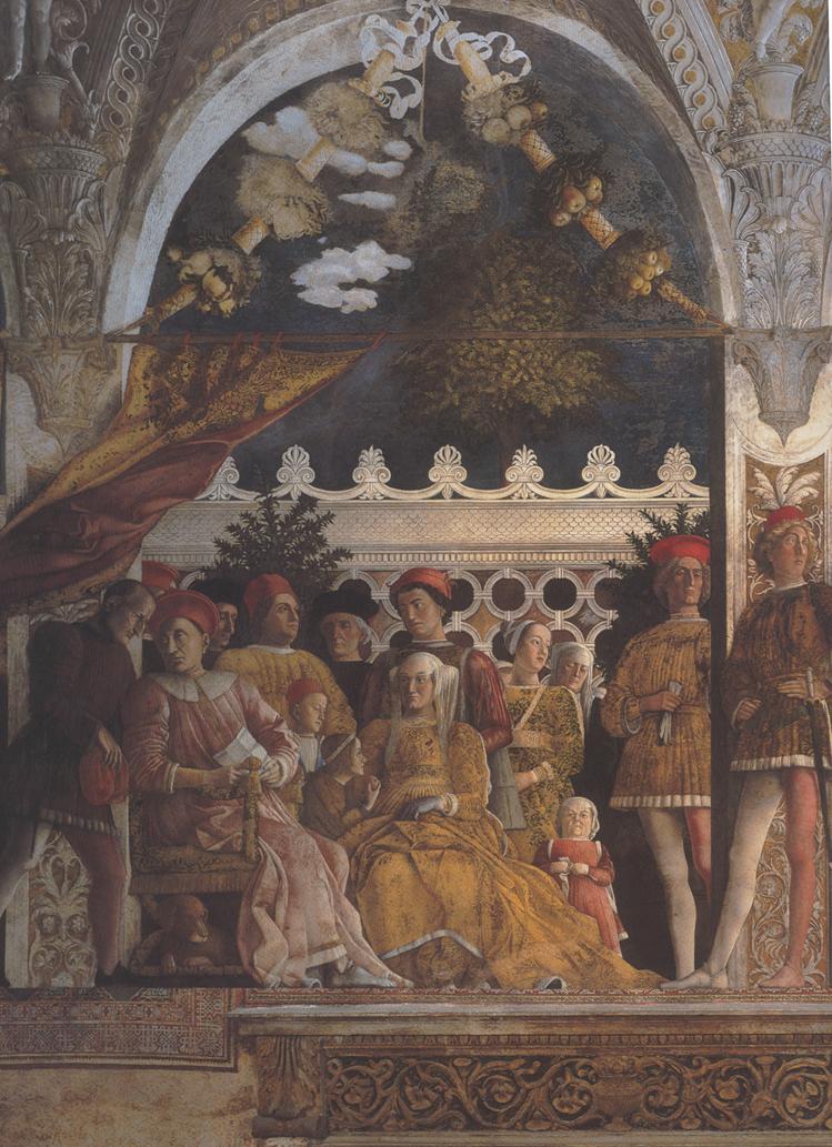 The purloined letter december 2007 for La corte dei gonzaga mantegna
