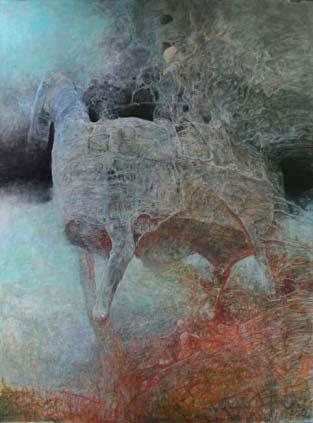 koń beksiński
