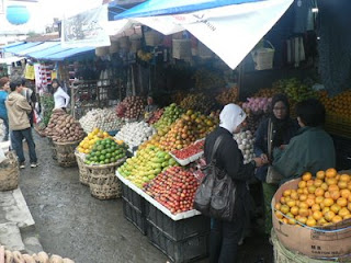 Pajak Buah (Fruit market)
