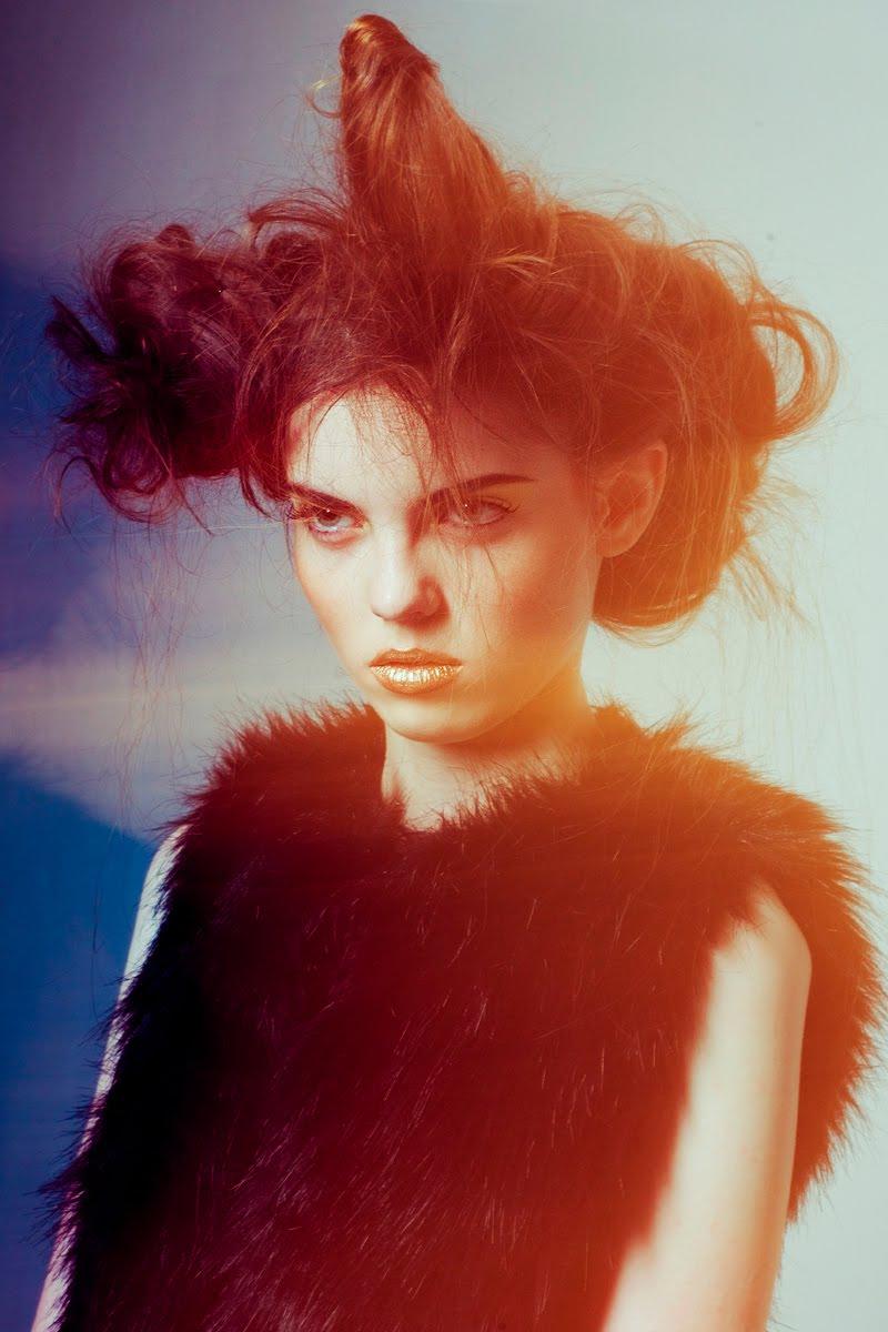 Fashion Served Mallory Richards Lucyna Danuta Bakowska Photography Graphic Arts