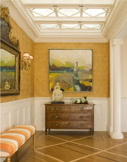 Ann Brown entry hall.  Click to open website.