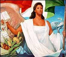 Regina orozco for Definicion de pintura mural