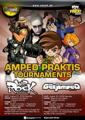 Amped Warrock Online Philippines Praktis Tournament