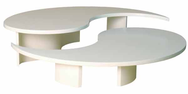 Beautiful Versatile And Well Designed The Virgule Coffee Table Was