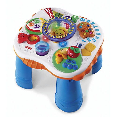 Fisher-Price Laugh & Learn Fun with Friends Musical Table ...