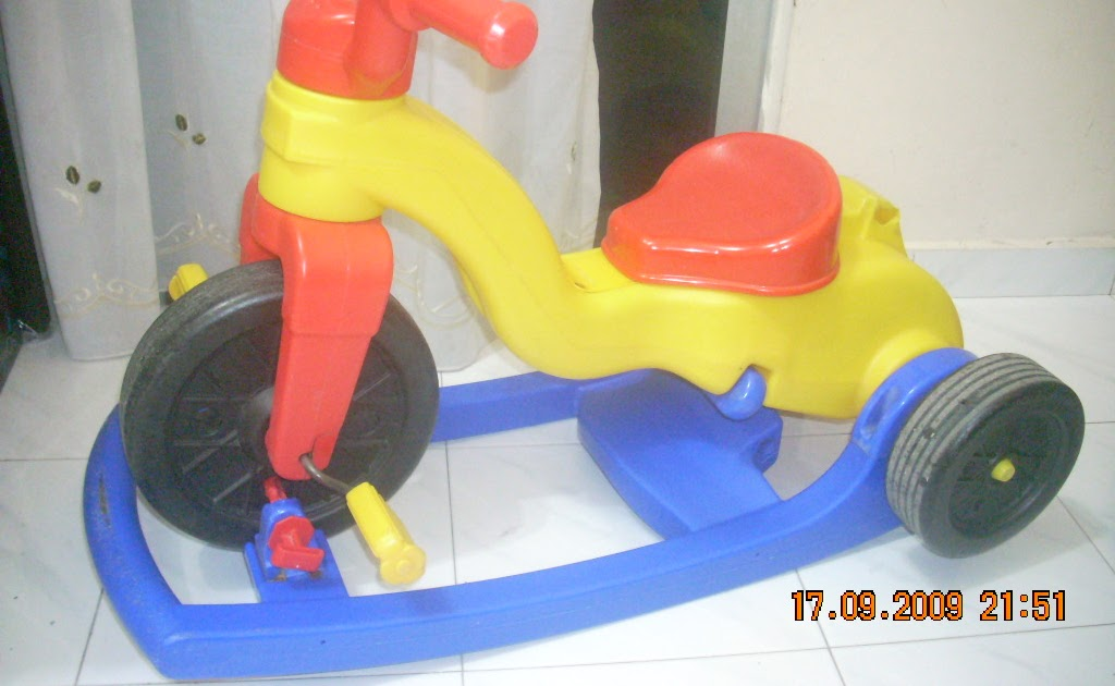 Toys4toddlers: Fisher Price Rock, Roll 'n Ride Trike