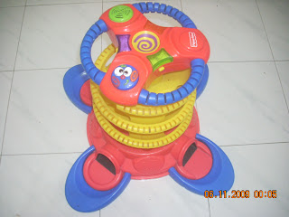 Toys4toddlers Fisher Price Playzone Stand Up Ball Blast