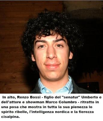 Renzo Bossi. Foto dalla rete
