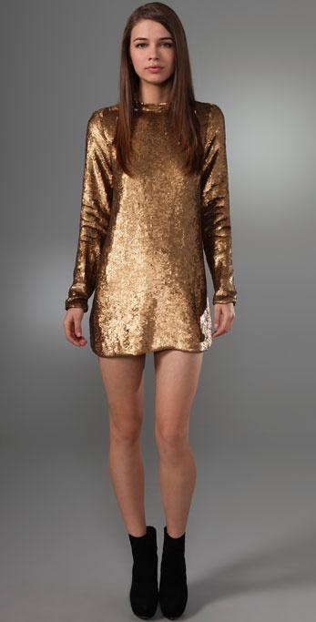 nicole richie winter kate dress. Nicole Richie also wore this