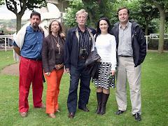 Ababol,Lidia,F.Martin,Isabel y yo.