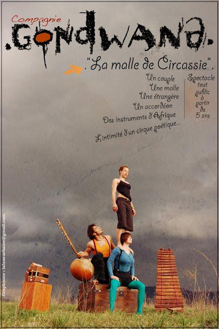 "Affiche ""La malle de Circassie"""