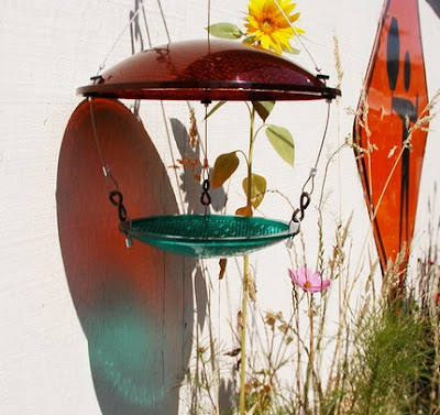 Bird Feeders Made From Recycled Materials