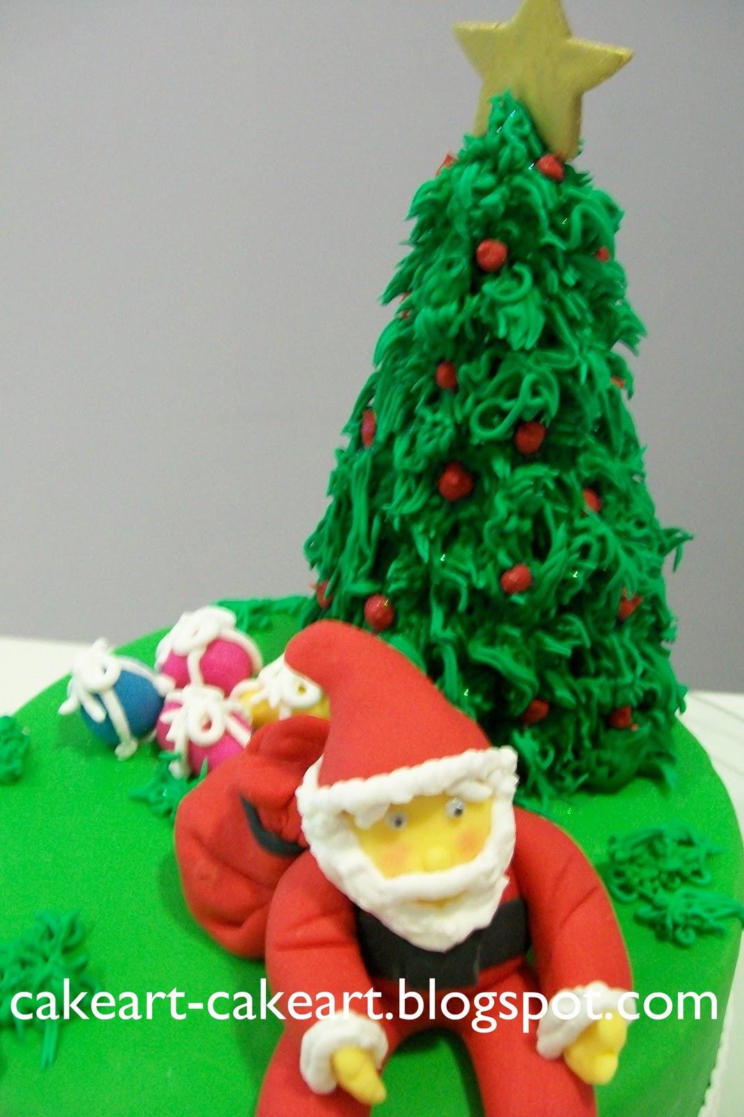 Cake Art Omr : CakeArt: Bolo do Papai Noel