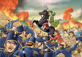 ILUSTRASI Perang Pangeran Diponegoro