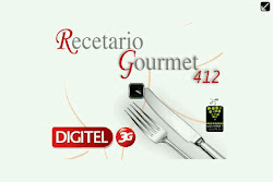 App Recetario Gourmet Lounge 412