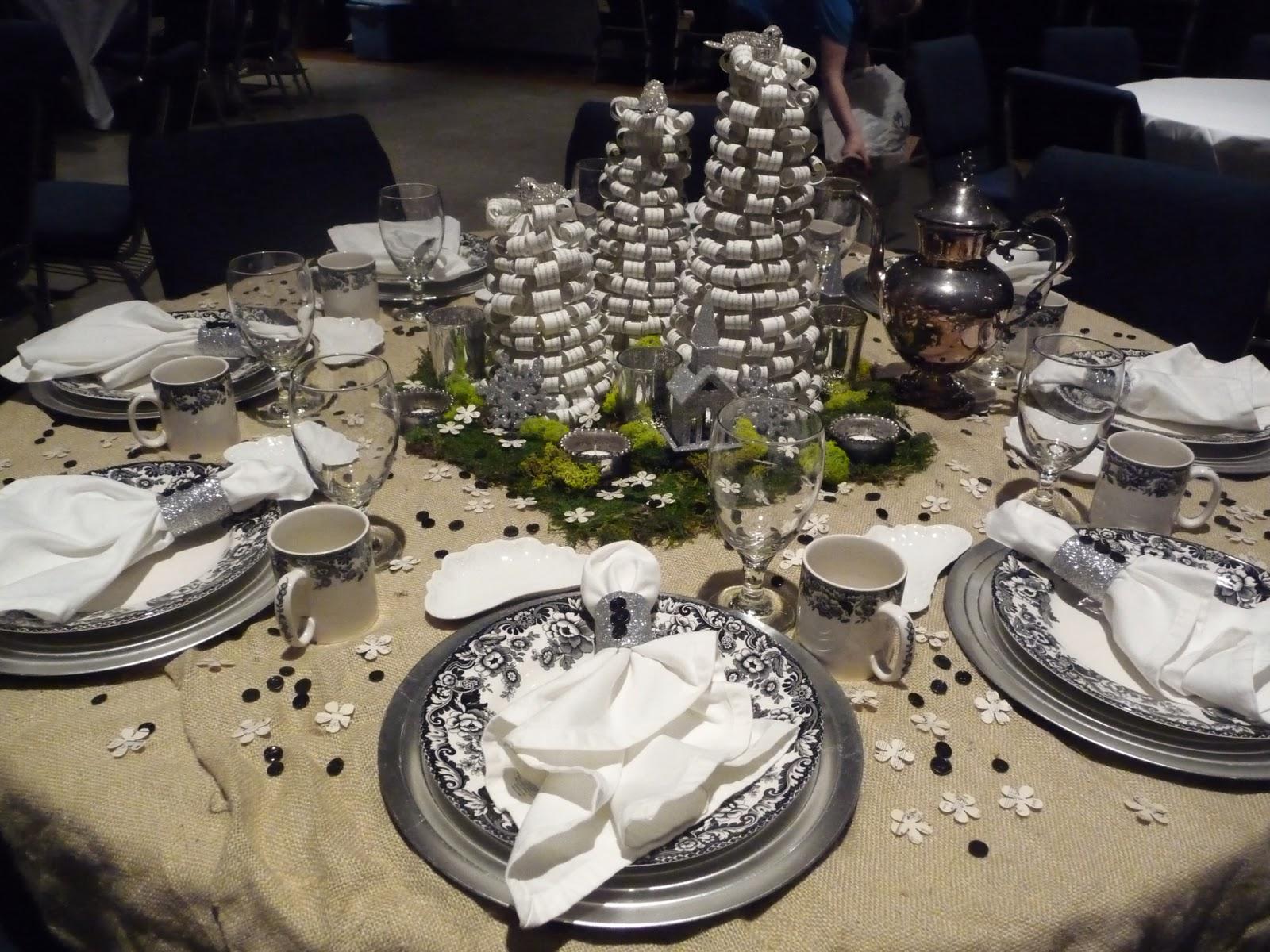 Heirlooms The Annual Christmas Tea At Church